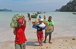 Southern Thailand Andaman Coast Tours - disaster relief