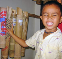 Southern Thailand community development - Bamboo-Saving